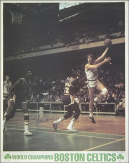 Autographs: DAVE COWENS - POSTER SIGNED