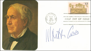 MORTON GOULD - FIRST DAY COVER SIGNED