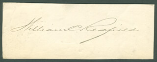 WILLIAM C. REDFIELD - AUTOGRAPH