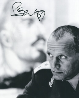 STEVEN BERKOFF - AUTOGRAPHED SIGNED PHOTOGRAPH