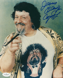 Autographs: LOU ALBANO - PHOTOGRAPH SIGNED