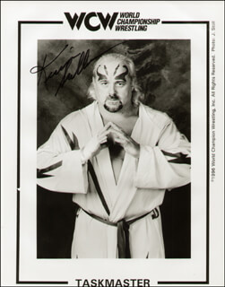 KEVIN THE TASKMASTER SULLIVAN - PRINTED PHOTOGRAPH SIGNED IN INK