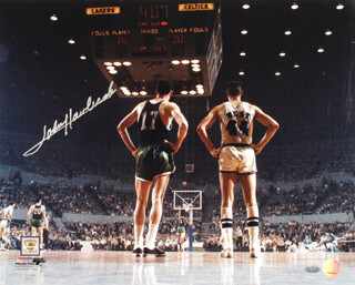 JOHN HAVLICEK - AUTOGRAPHED SIGNED PHOTOGRAPH