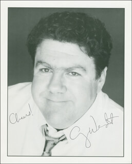 GEORGE WENDT - AUTOGRAPHED SIGNED PHOTOGRAPH