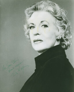 UTA HAGEN - AUTOGRAPHED INSCRIBED PHOTOGRAPH