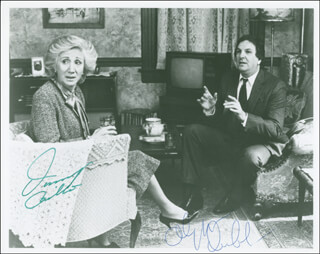 MOONSTRUCK MOVIE CAST - AUTOGRAPHED SIGNED PHOTOGRAPH CO-SIGNED BY: DANNY AIELLO, OLYMPIA DUKAKIS - HFSID 299272