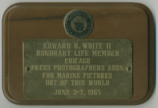 Autographs: LT. COLONEL EDWARD H. WHITE II - EPHEMERA UNSIGNED