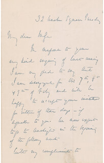 MAJOR GENERAL GEORGE B. MCCLELLAN - AUTOGRAPH LETTER SIGNED