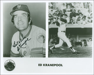 ED KRANEPOOL - AUTOGRAPHED SIGNED PHOTOGRAPH