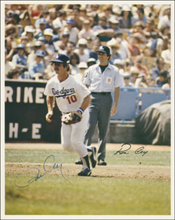 RON CEY - AUTOGRAPHED SIGNED PHOTOGRAPH