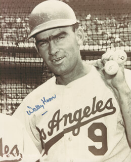 WALLY MOON - AUTOGRAPHED SIGNED PHOTOGRAPH