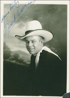 BUCK OWENS - AUTOGRAPHED SIGNED PHOTOGRAPH