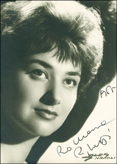 RINA MORELLI - AUTOGRAPHED SIGNED PHOTOGRAPH