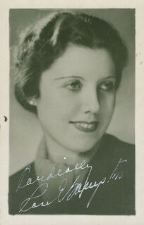 ROSE BAMPTON - AUTOGRAPHED SIGNED PHOTOGRAPH