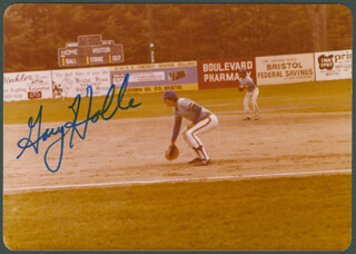 GARY HOLLE - AUTOGRAPHED SIGNED PHOTOGRAPH