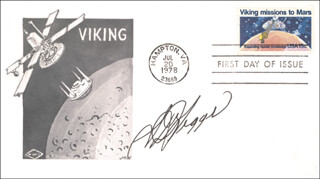 S. DAVID GRIGGS - FIRST DAY COVER SIGNED