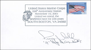 COLONEL PERRY J. DAHL - COMMEMORATIVE ENVELOPE SIGNED