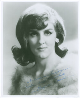 GWYNN CORNELL - AUTOGRAPHED INSCRIBED PHOTOGRAPH