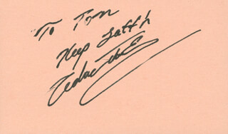 CEDRIC THE ENTERTAINER - AUTOGRAPH NOTE SIGNED