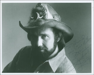 JOHNNY LEE - AUTOGRAPHED INSCRIBED PHOTOGRAPH