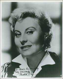 MICHELE MORGAN - AUTOGRAPHED INSCRIBED PHOTOGRAPH