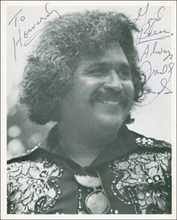 FREDDY FENDER - AUTOGRAPHED INSCRIBED PHOTOGRAPH