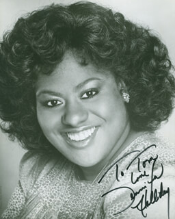 JENNIFER HOLLIDAY - AUTOGRAPHED INSCRIBED PHOTOGRAPH