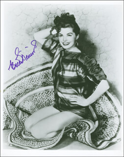 ESTHER WILLIAMS - AUTOGRAPHED SIGNED PHOTOGRAPH