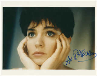 ANNE PARILLAUD - AUTOGRAPHED SIGNED PHOTOGRAPH