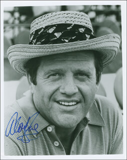 ALAN KING - AUTOGRAPHED SIGNED PHOTOGRAPH