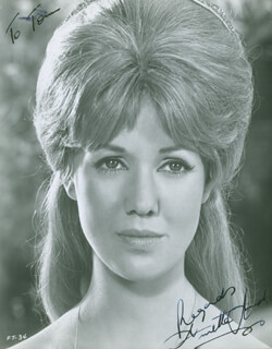 ANNETTE ANDRE - AUTOGRAPHED SIGNED PHOTOGRAPH