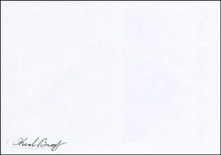 Autographs: CAPTAIN CHARLES E. BRADY JR. - ENVELOPE SIGNED