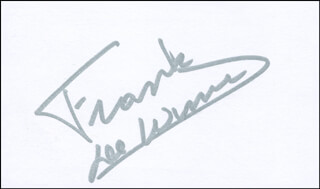 Autographs: BRIGADIER GENERAL FRANK DE WINNE - SIGNATURE(S)