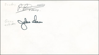 JAKE GARN - ENVELOPE SIGNED CO-SIGNED BY: PATRICK BAUDRY