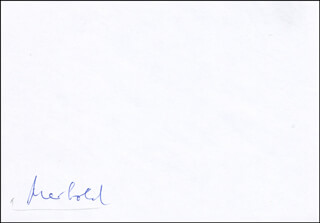 ULF MERBOLD - ENVELOPE SIGNED