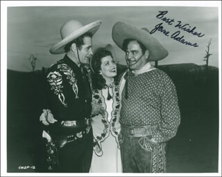 Autographs: JANE ADAMS - PHOTOGRAPH SIGNED