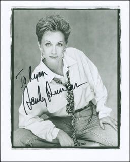 SANDY DUNCAN - AUTOGRAPHED INSCRIBED PHOTOGRAPH