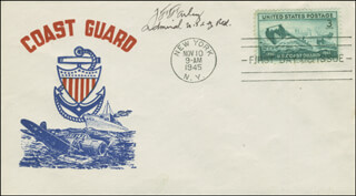 Autographs: ADMIRAL JOHN F. FARLEY - FIRST DAY COVER SIGNED