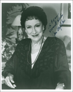 JEAN STAPLETON - AUTOGRAPHED INSCRIBED PHOTOGRAPH