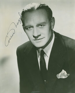 CONRAD NAGEL - PHOTOGRAPH SIGNED TWICE