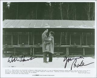 GORKY PARK MOVIE CAST - AUTOGRAPHED SIGNED PHOTOGRAPH CO-SIGNED BY: WILLIAM HURT, JOANNA PACULA