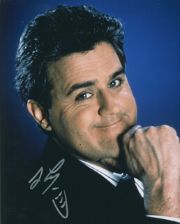 JAY LENO - AUTOGRAPHED SIGNED PHOTOGRAPH