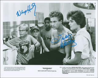 RUSSKIES MOVIE CAST - AUTOGRAPHED SIGNED PHOTOGRAPH CO-SIGNED BY: SUSAN WALTERS, WHIP HUBLEY