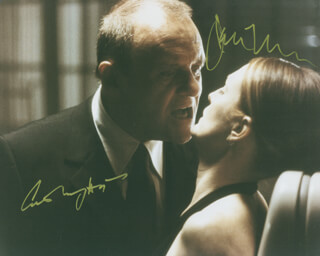HANNIBAL MOVIE CAST - AUTOGRAPHED SIGNED PHOTOGRAPH CO-SIGNED BY: ANTHONY HOPKINS, JULIANNE MOORE