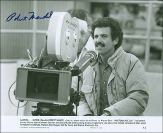 ROBERT MANDEL - AUTOGRAPHED SIGNED PHOTOGRAPH