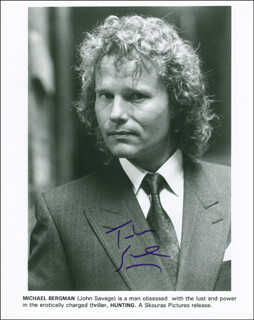 JOHN SAVAGE - PRINTED PHOTOGRAPH SIGNED IN INK