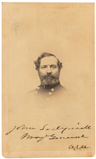 MAJOR GENERAL JOHN SEDGWICK - AUTOGRAPHED SIGNED PHOTOGRAPH
