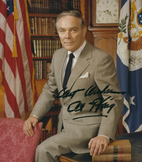 GENERAL ALEXANDER M. HAIG JR. - AUTOGRAPHED SIGNED PHOTOGRAPH