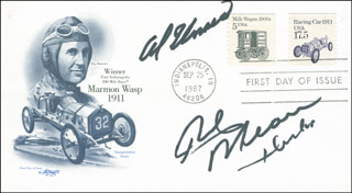 AL UNSER - FIRST DAY COVER SIGNED CO-SIGNED BY: RICK MEARS