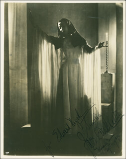 JANE BURKHALTER - AUTOGRAPHED INSCRIBED PHOTOGRAPH 09/1939